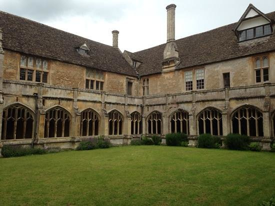 Lacock Abbey: Abbey Cloisters