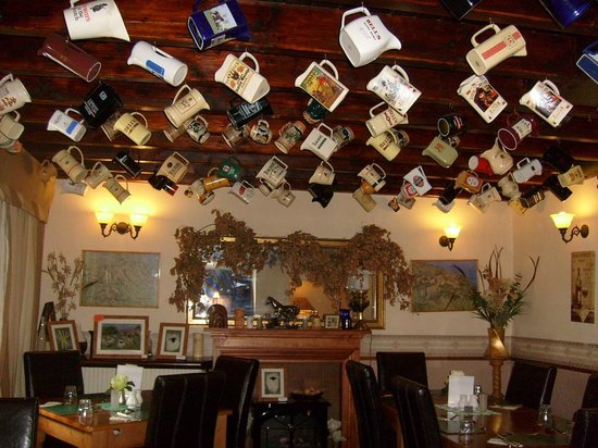 Blacksmith's Arms: One of the bar rooms