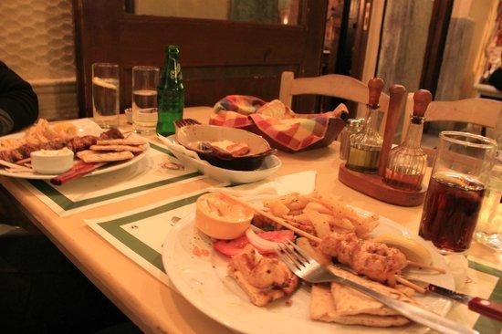 Lithos Restaurant Athens Menu