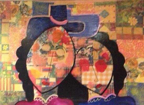Ayre Gran Hotel Colon: Рисунки на стенах