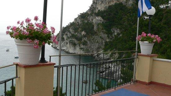 Hotel Weber Ambassador Capri : West view