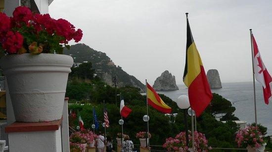 Hotel Weber Ambassador Capri : East view