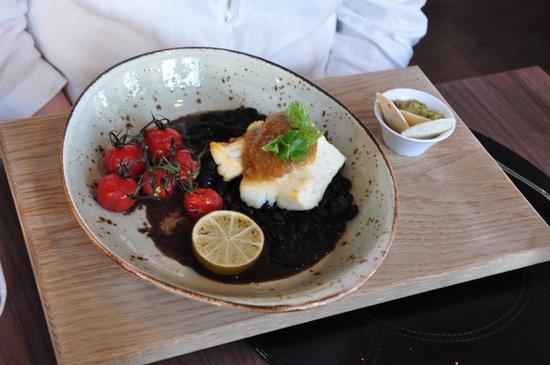 Kitchen & Table Bergen: Grilled Cod Salsa Verde