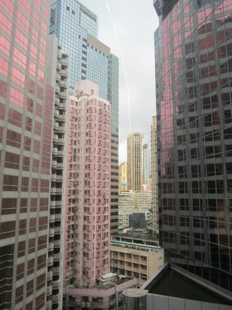 Regal Hongkong Hotel: View from 8th floor room
