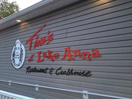 Tim's at Lake Anna: Tim's Entrance