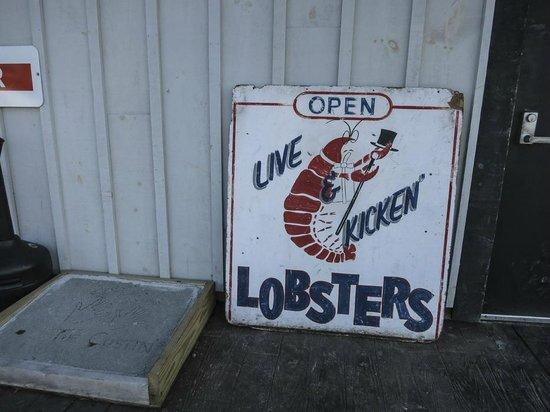 Belle Isle: lobsters anyone?