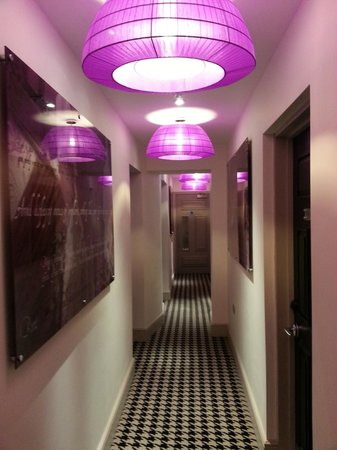 Hotel Indigo London Kensington : Couloirs