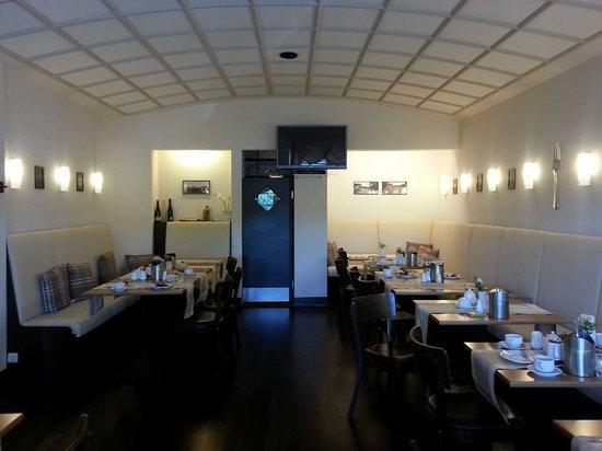 Am Schloss Biebrich: Speisezimmer/Frühstücksraum