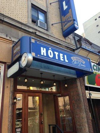 Hotel St-Denis: ホテル入口
