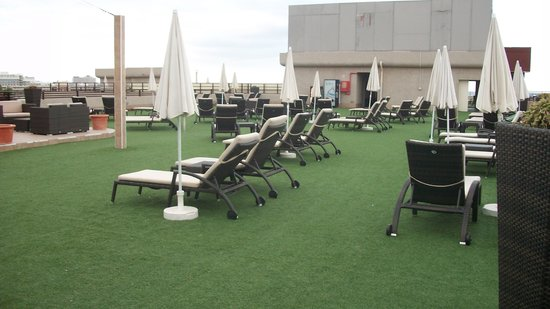 Fanabe Costa Sur Hotel: ROOF TERRACE 2014