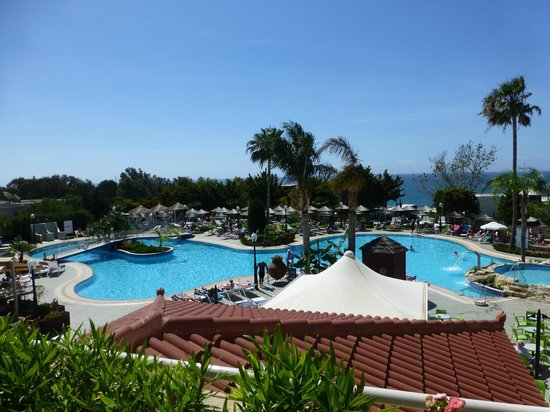 Atlantica Bay Hotel: Pool view from the outside terrace
