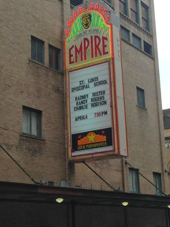 Charline McCombs Empire Theatre: Outside
