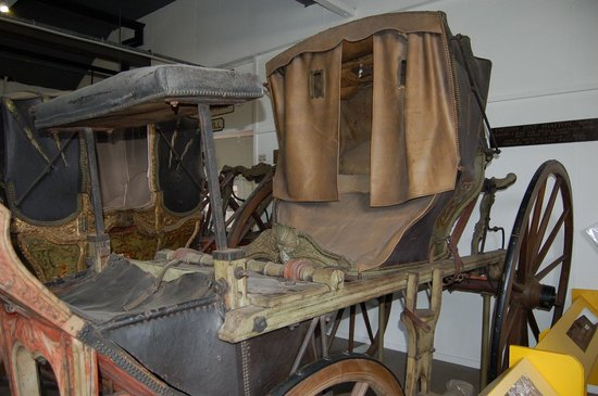 Nottingham Industrial Museum: Carriage