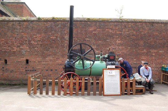 Nottingham Industrial Museum: steam engine
