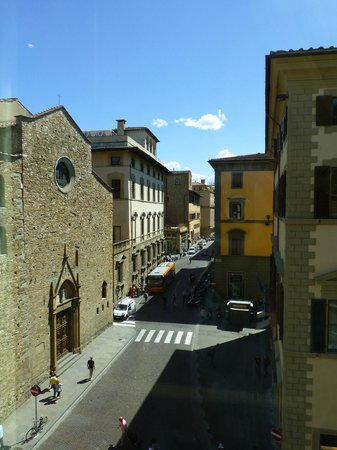 Hotel Laurus al Duomo : View of Santa Maria Maggiore from Room 403