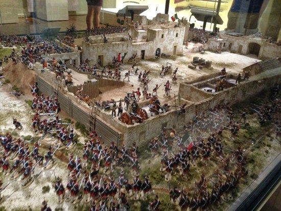 Alamo Diorama Picture Of Briscoe Western Art Museum San