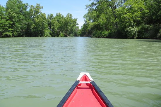 Max Starcke Park -Seguin paddling trail on the Guadalupe River