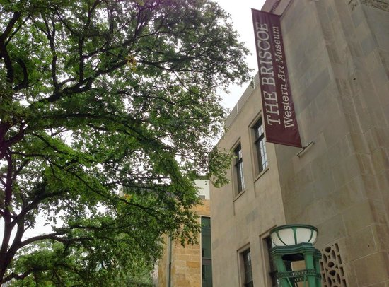 Briscoe Western Art Museum: Front of the museum