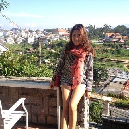 ZEN Cafe & Villa : viewd on the hill