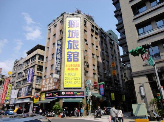 Lion City Hotel: 建物は立派です。