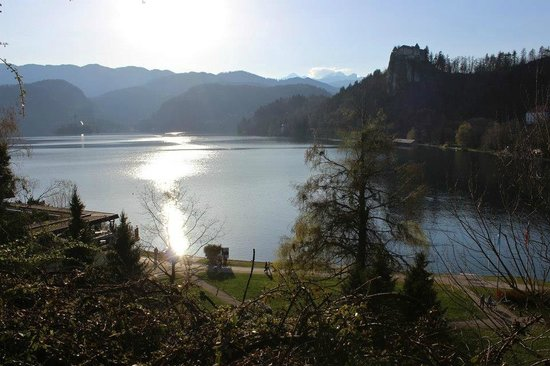 Park Hotel Bled: the views were stunning