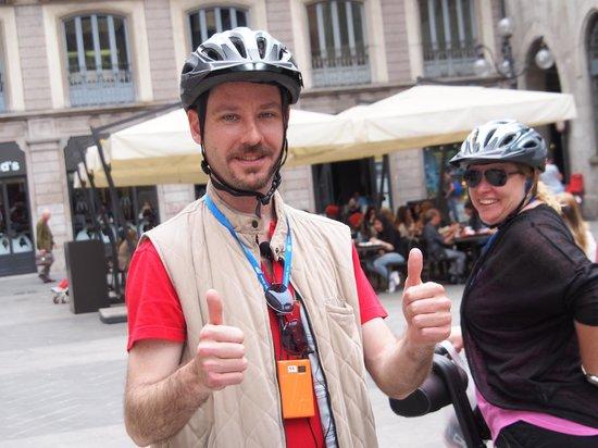 Milan Segway Tours: Thumbs up - arrivederci !