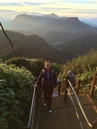 Adam's Peak : На вершине