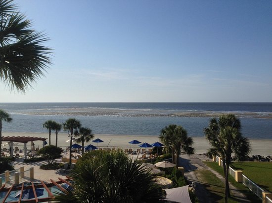 The King and Prince Beach and Golf Resort : The view from our room