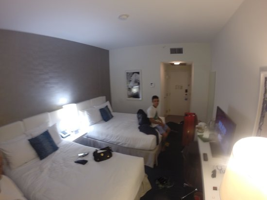 YVE Hotel Miami: Vista interna