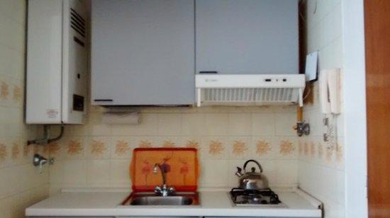 Hotel Cristoforo Colombo: cocina