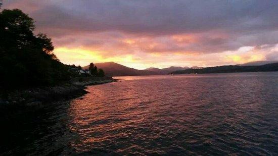 Duncreggan House: The sunset