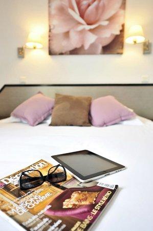 Amadour Hotel : Chambre triple avec terrasse