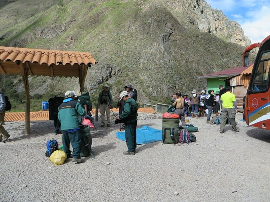Pachamama Explorers: Staging Area for the Hike