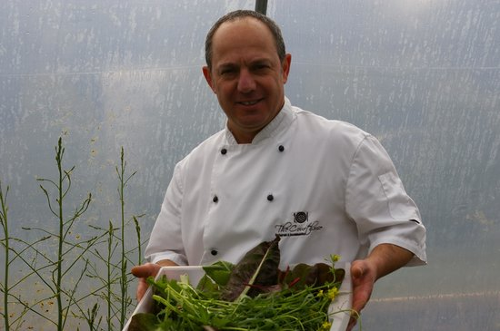 The Courthouse Restaurant : polytunnel