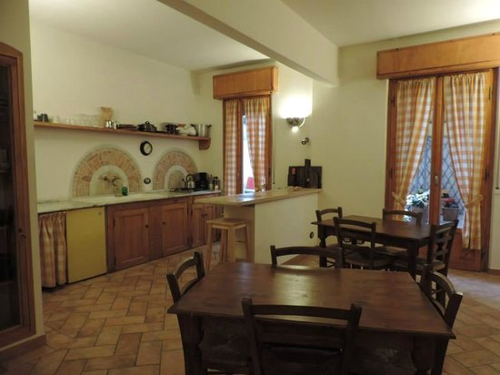 B&B La Gradiva: Cozinha