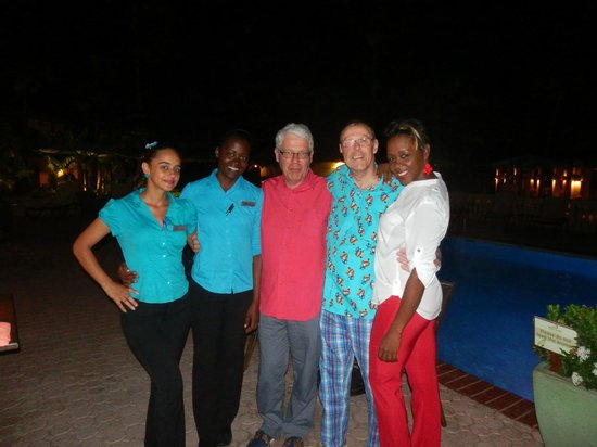Manchebo Beach Resort & Spa: attentive staff