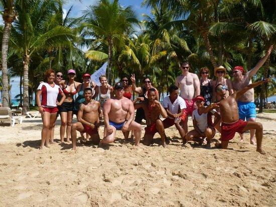 Hotel Riu Palace Mexico: Zumba en la Playa