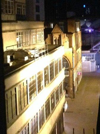 Britannia Hotel Birmingham: View from room
