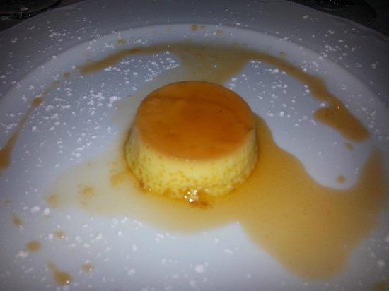 Ristorante Villa Borromeo: Crème Caramel