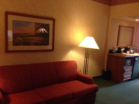 Embassy Suites by Hilton Omaha - Downtown/Old Market : My room