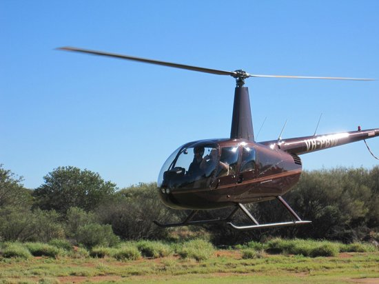 Professional Helicopter Services : Our Chopper