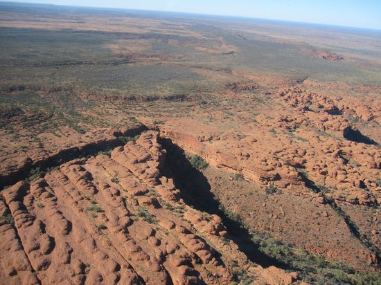 Professional Helicopter Services : Kings Canyon from the air