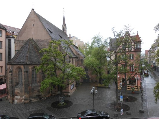 Hotel Drei Raben: beautiful view from the window