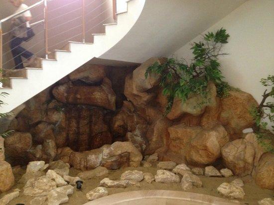 DIT Evrika Beach Club Hotel : Lobby