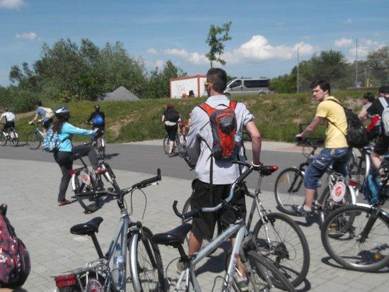 Praha Bike -  Bicycle Tours & Rentals : Zbraslav - Praha