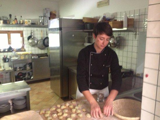 Agriturismo La Chiusa: the master chef