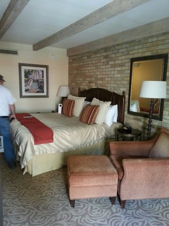 Omni La Mansion del Rio : Our room