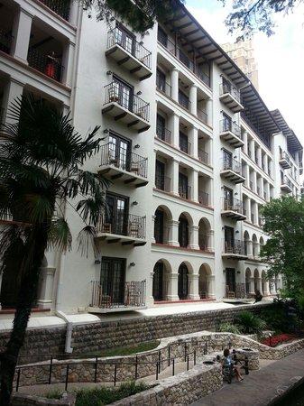 Omni La Mansion del Rio: View from the river