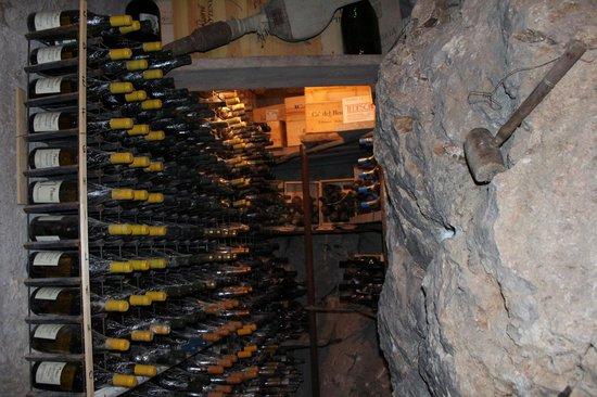 Da Tonino: amazing wine cellar