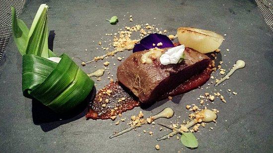 Restaurant Labyrinth: Satay beef tenderloin